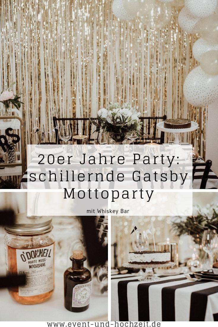 20er jahre party schillernde gatsby mottoparty stephanie s events und hochzeitsplanung. Black Bedroom Furniture Sets. Home Design Ideas