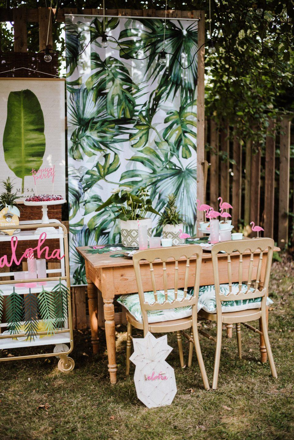 mottoparty karibik hawaii diy ideen stephanie s events und hochzeitsplanung. Black Bedroom Furniture Sets. Home Design Ideas